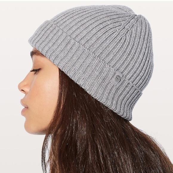 ca46b809e23 lululemon athletica Accessories - Lululemon Wool Be Cozy Toque